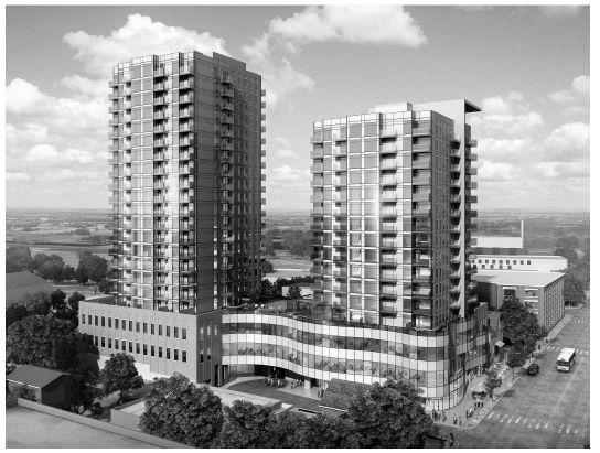 Condominium Developmnet – 100 Hundred Victoria Tower II, 100 Victoria Street South, Kitchener, ON